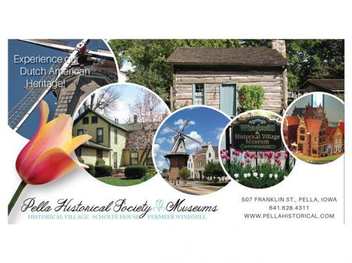 Pella Historical Society Ad