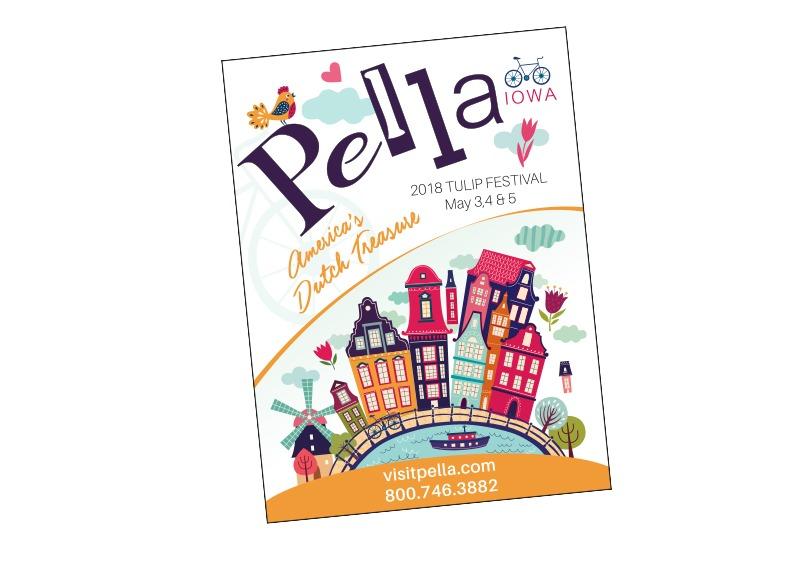 Pella Convention & Visitors Bureau Ad for The Iowan