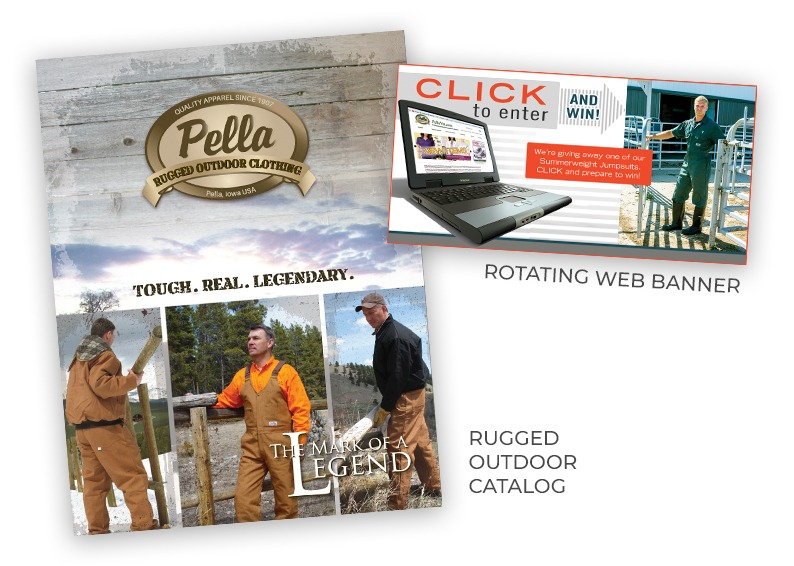 Pella Products Catalog and Web Banner
