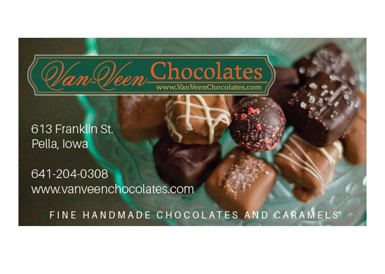 Van Veen Chocolates Ad